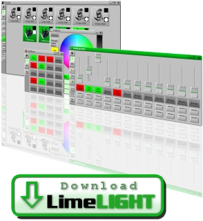 Trace Lighting LimeLIGHT DMX Software