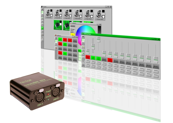 LimeLIGHT | Lighting Control Software | DMX Software from Trace Lighting